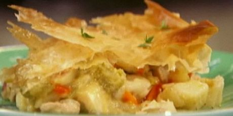 Skinny Down-Home Chicken Pot Pie cook yourself thin