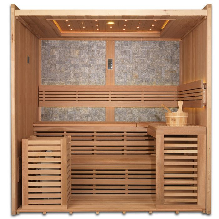 You'll love the 4-6 Person Ceramic FAR infrared Sauna at Wayfair - Great Deals on all Outdoor  products with Free Shipping on most stuff, even the big stuff.