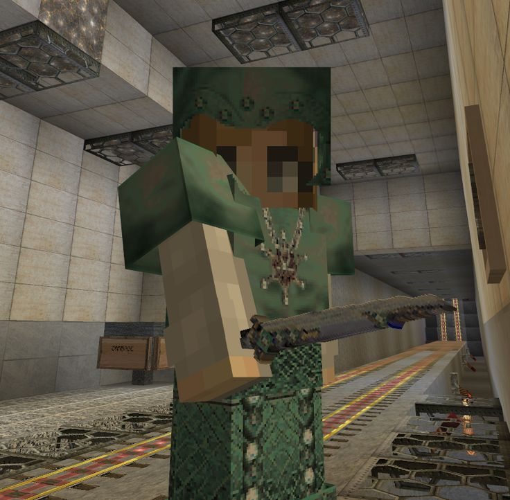 Shmoosee's realistic texture pack for Minecraft 1.11.2 diamond armor and sword