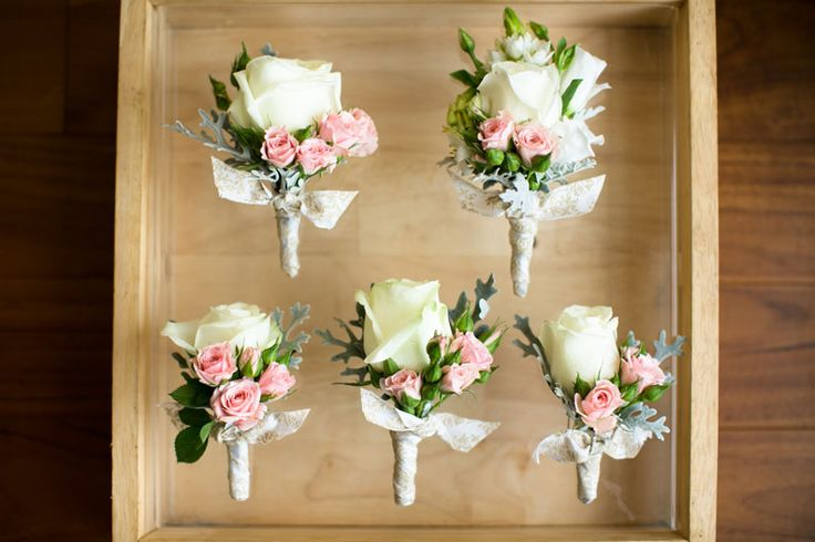 Boutonnieres for Groom Party