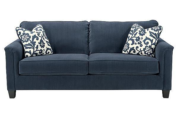 Ashley Furniture Keendre Indigo Sofa Living Room Furniture Pinterest Furniture Style And