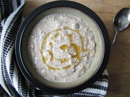 Bananal Apple Chia overnight oats