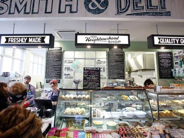Smith & Deli - vegan deli in Fitzroy, Victoria, Australia - sister venue to Smith & Daughters restaurant