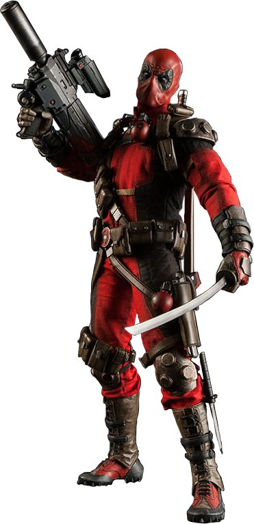 Deadpool 1/6th Scale Action Figure by Sideshow Collectibles | Popcultcha