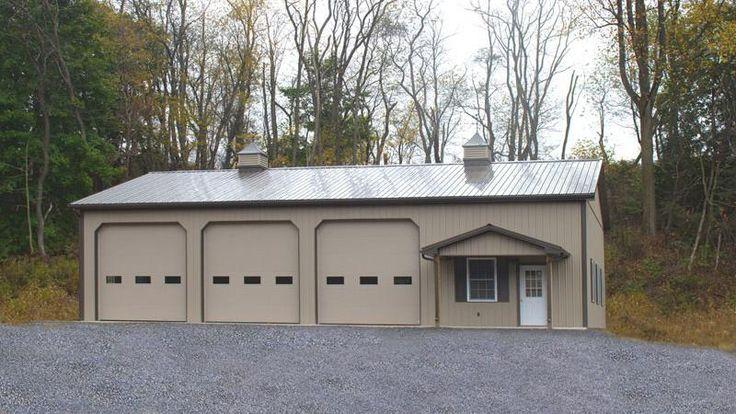70 best images about garage on pinterest for 3 bay garage plans