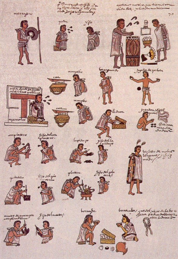 The Aztec society transitioned and became increasingly hierarchical. Different social classes emerged but the Capulli organization survived. It was during this time that it was discovered that tribute from their own people was just not enough and they needed much more.
