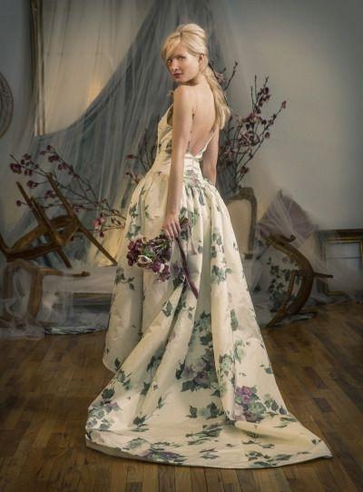 Floral dresses from Elizabeth Fillmore: http://www.stylemepretty.com/2015/04/24/elizabeth-fillmore-spring-2016/