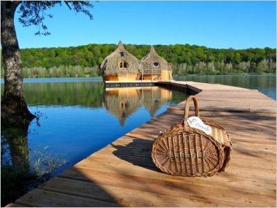 Cabanes flottantes  Les Cabanes des Grands Lacs