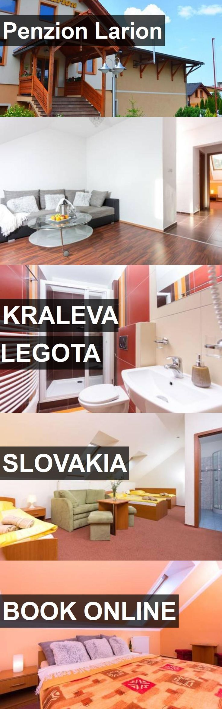 Hotel Penzion Larion in Kraleva Legota, Slovakia. For more information, photos, reviews and best prices please follow the link. #Slovakia #KralevaLegota #hotel #travel #vacation