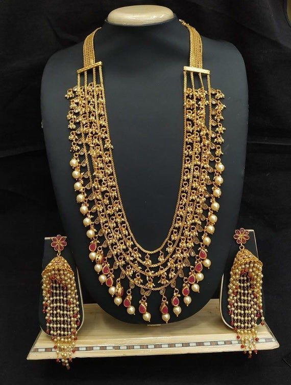Gold Jewelry setwedding Gold accessories luxury bridal traditional wedding