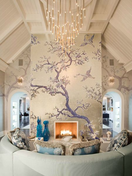 Grand and Eye-Popping Yet Cozy and Intimate Family Home