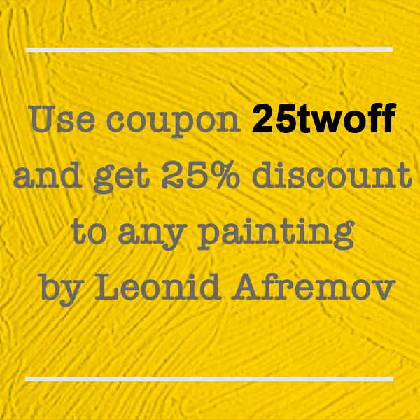 Afremov Coupons & Discount Codes. skywestern.ga is an online store for art pieces of the Russian–Israeli modern impressionistic artist Leonid Afremov who works mainly with a .
