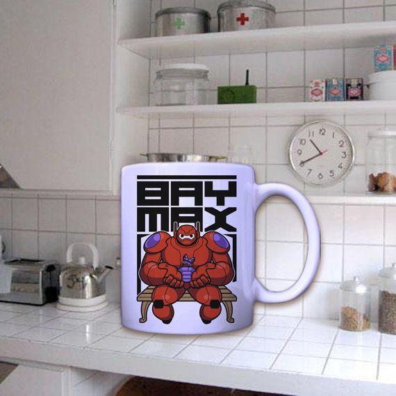 Baymax big hero 6 In Mug by dirimug on Etsy