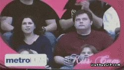 This guy is hilarious! The woman next to him could only WISH for a guy that funny!