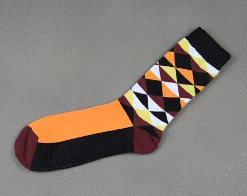 Mr k yellow dress socks
