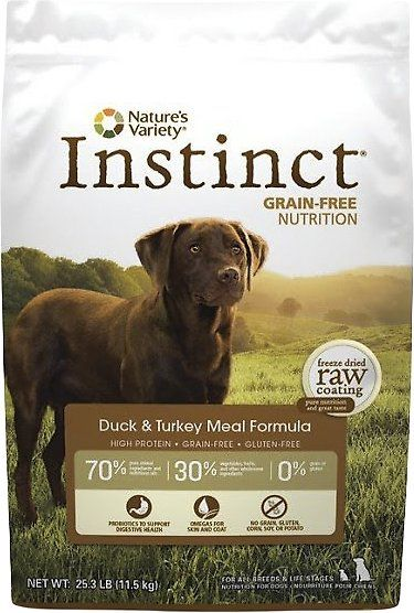 Nature's Variety Instinct Grain-Free Duck & Turkey Meal Formula Dry Dog Food