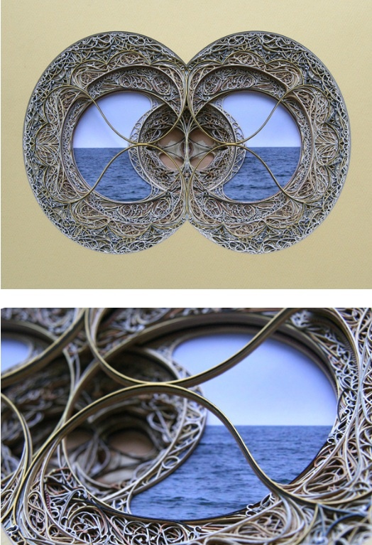 Best Eric Standleys Lasercut Paper Art Images On Pinterest - Beautiful laser cut paper art eric standley