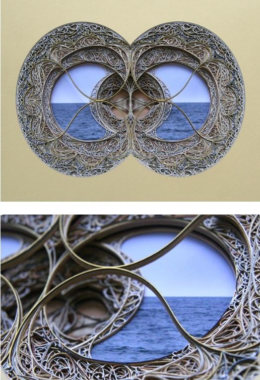 Best Eric Standleys Lasercut Paper Art Images On Pinterest - Beautiful laser cut paper art eric standley