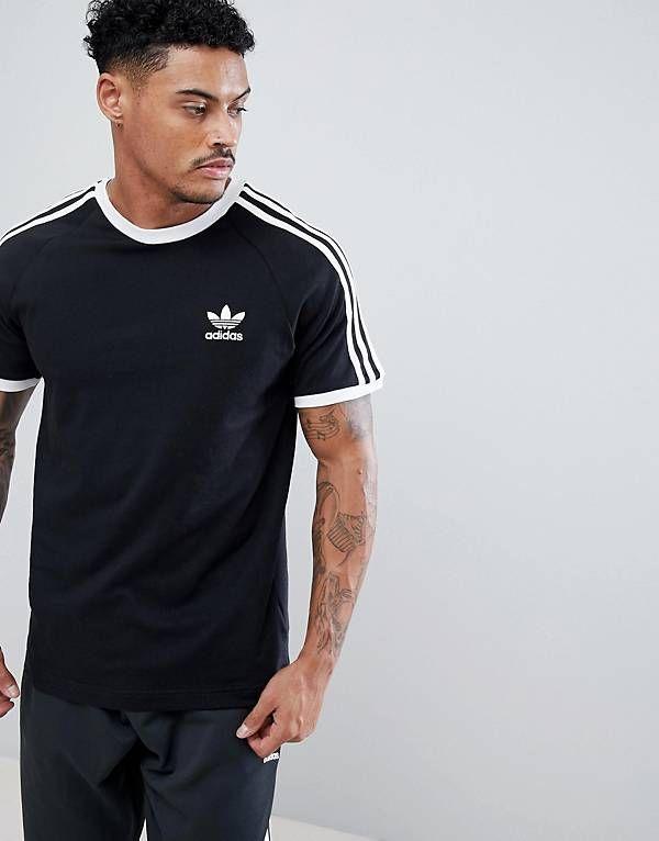 t shirt noir homme adidas