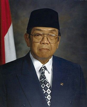 Abdurrahman Wahid, born Abdurrahman Addakhil[2][3] ( pronunciation  ahb-doo-rah-mahn wah-heed;[needs IPA] 7 September 1940 – 30 December 2009), colloquially known as  Gus Dur , was an Indonesian Muslim religious and political leader who served as the President of Indonesia from 1999 to 2001. The long-time president of the Nahdlatul Ulama and the founder of the National Awakening Party (PKB), Wahid was the first elected president of Indonesia after the resignation of Suharto in 1998.