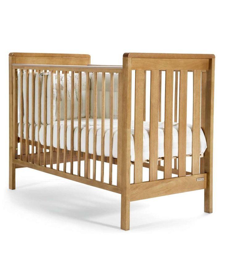 Pebble Cot - Golden Oak - Cot Beds, Cots & Cribs - Mamas & Papas