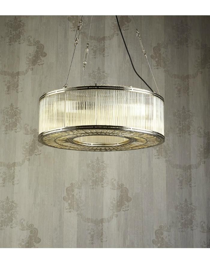 Verre Ring Glass Pendant Light - Chic Chandeliers