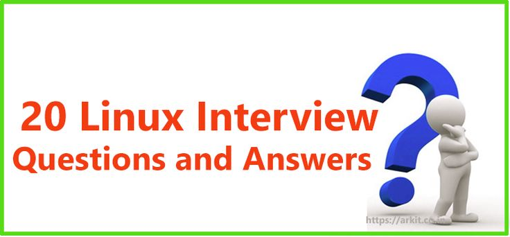 20 Good Linux Interview Questions and Answers