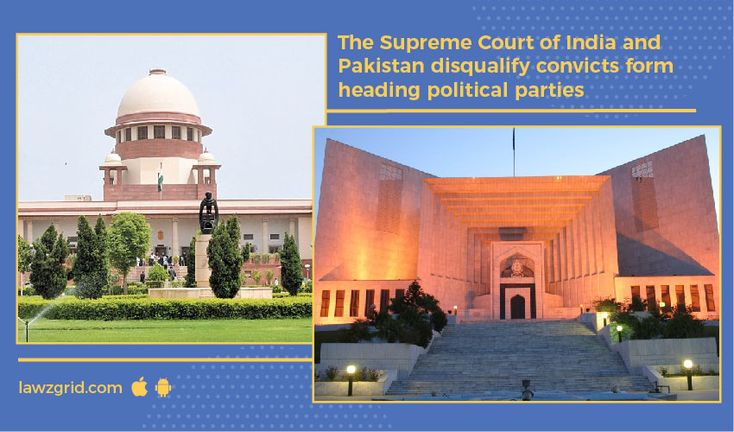 The Hon'ble Supreme Court of India seeking that a ban should be imposed on persons convicted of an offence from heading a political party.