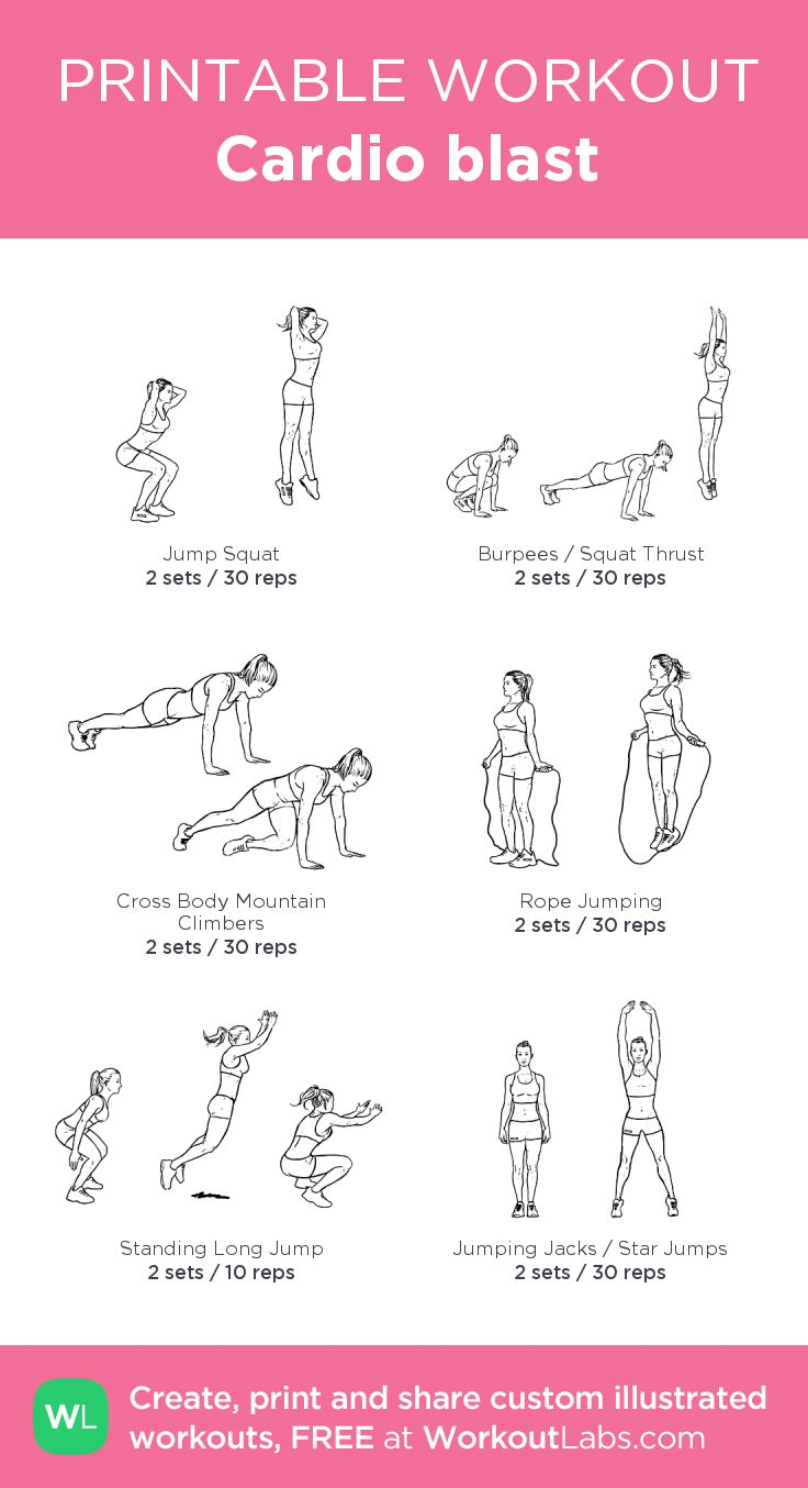 cardio exercise for weight loss pdf