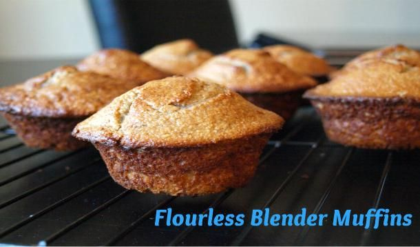 Flourless muffins that are so easy to make you can whip up a batch every morning.  Tanya's note:  Swapped out sugar with splenda to make these 100% SFT