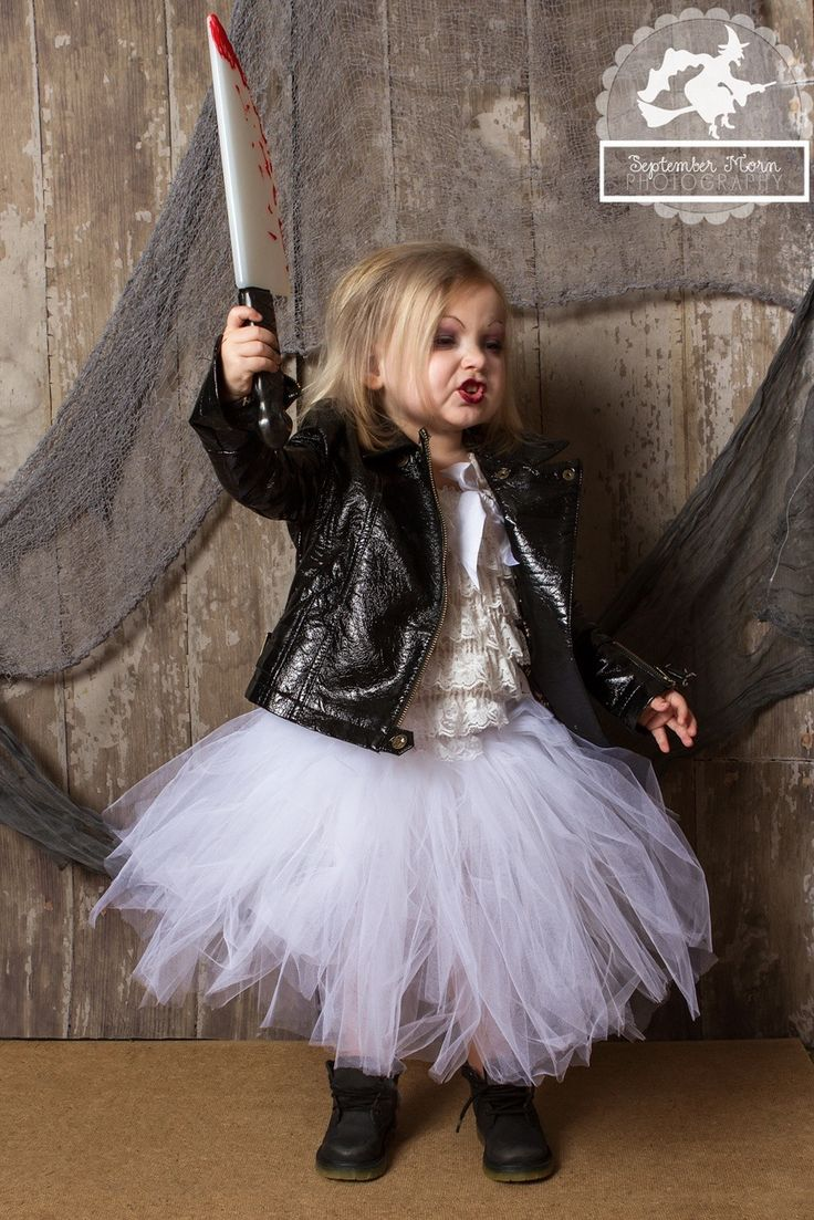 Chucky's bride costume