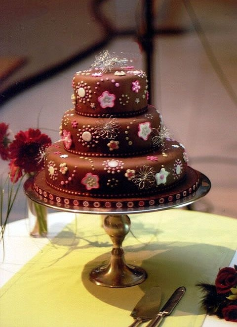 My First Wedding Cake!