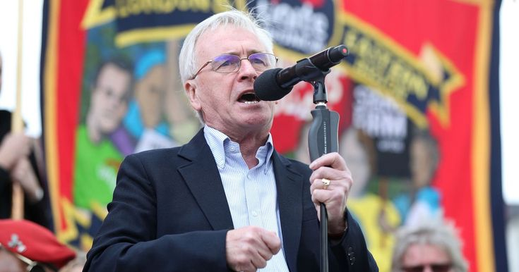 The Shadow Chancellor used the annual rally to press for Labour votes in the general election