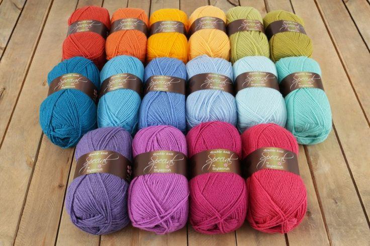 Little Tin Bird Bright Rainbow Pack - Stylecraft Special DK (16 balls) - Wool Warehouse - Buy Yarn, Wool, Needles & Other Knitting Supplies Online!