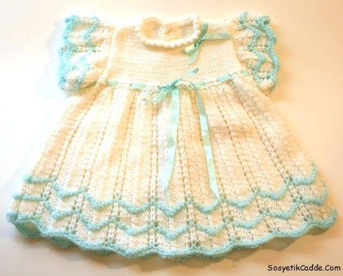 en moda örgü bebek kıyafetleri