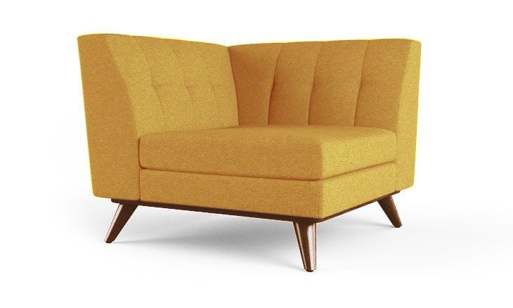 Hughes Corner Chair #ChairUpholstery