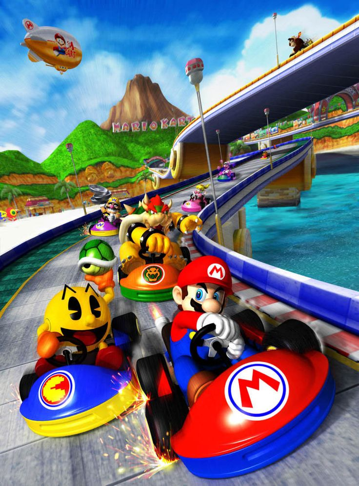 Nintendo.   Mario Kart; only the best game ever