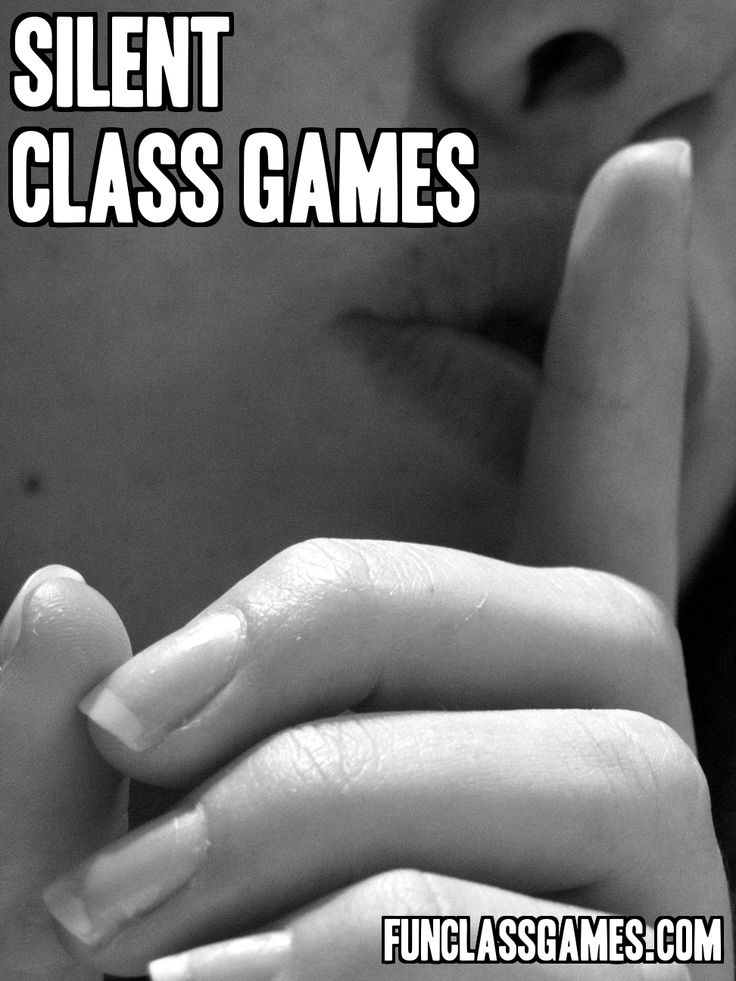 Silent Class Games: Ever have one of those moments at the end of a Friday school day where your students are making too much noise and you don't feel like doing any work? Well you have come to the right place!
