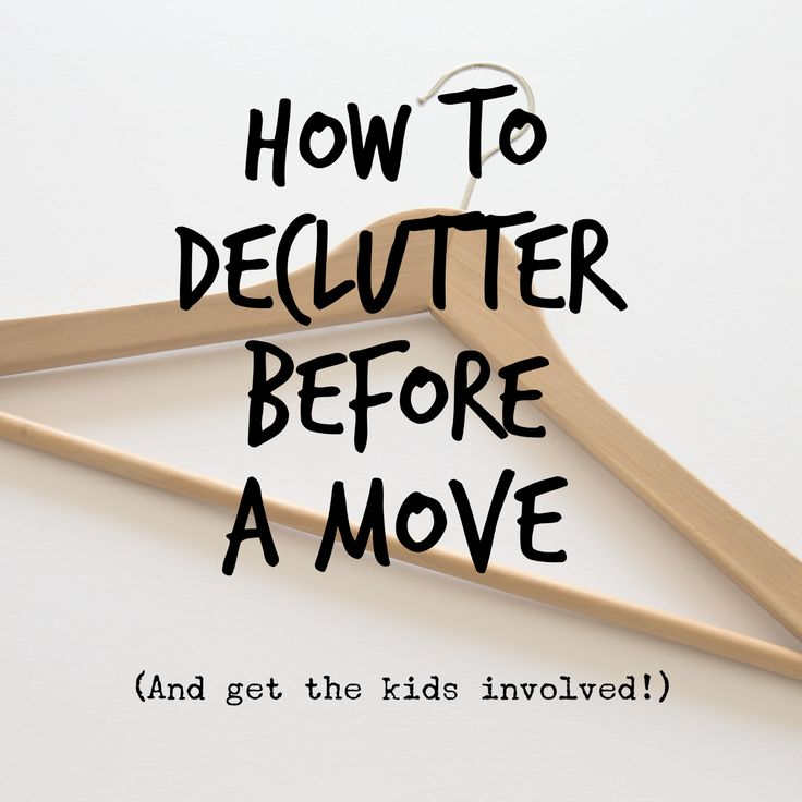 8 practical tips on decluttering before a move.  Includes the KonMari method