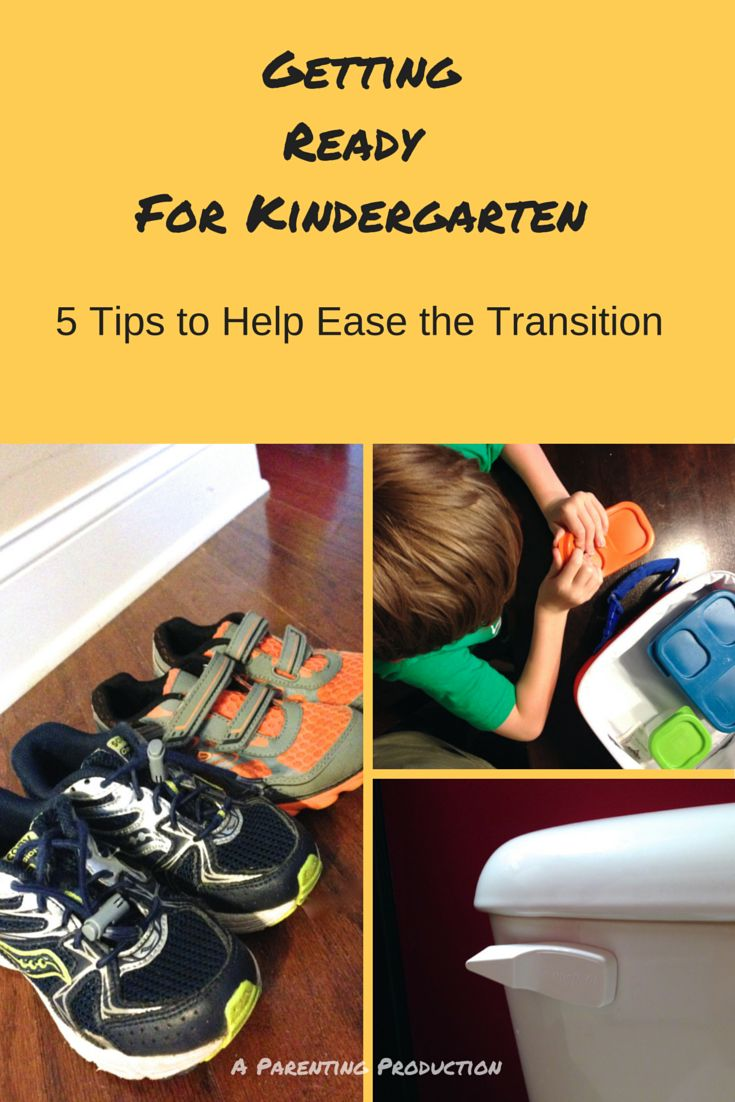 Kinder Garden: 5 Getting Ready For Kindergarten Tips To Ease The