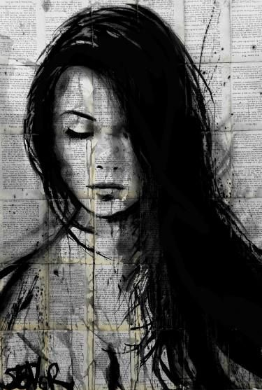 "Saatchi Art Artist Loui Jover; Drawing, ""seek"" #art"