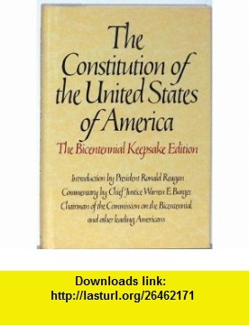 Constitution of the United States of America (Bicentennial Keepsake Edition) (9780553052022) Byron Preiss, President Ronald Reagan , ISBN-10: 0553052020  , ISBN-13: 978-0553052022 ,  , tutorials , pdf , ebook , torrent , downloads , rapidshare , filesonic , hotfile , megaupload , fileserve