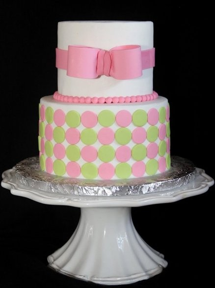 Bow Cakes Pinterest
