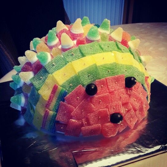 Candycake hedgehog