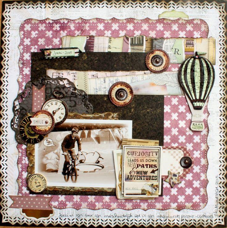 """Beautiful Dreamer"" collectie van Bo Bunny. Scrapstuff and more: Joeri & His BMX *Bo Bunny*"