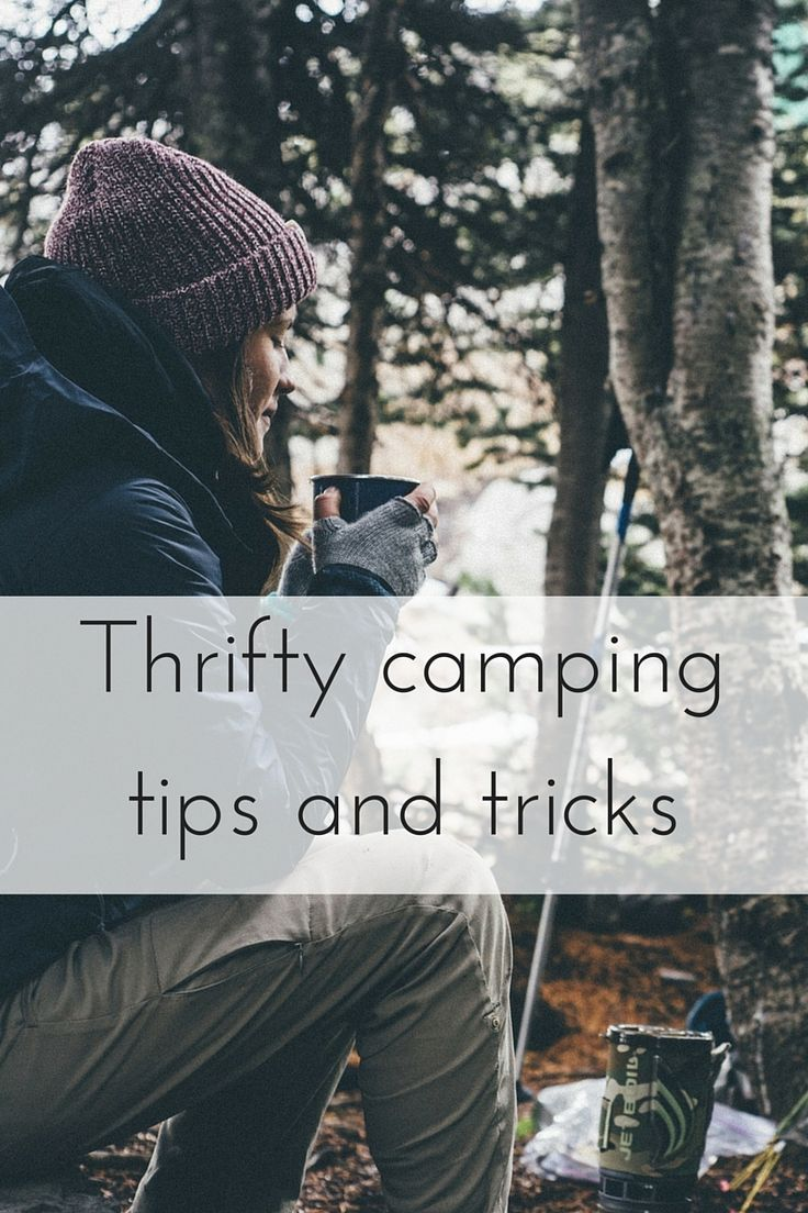Thrifty camping tips and tricks 2