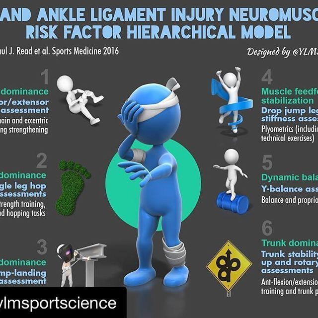#Repost @ylmsportscience (@get_repost) ・・・ ‪⚽️ How to prevent knee & ankle ligament injury‬ ‪✅ Strength training‬ ‪✅ Plyometrics‬ ‪✅ Proprio‬ ‪✅ Balance‬  #sport #injury #prevention #sportscience #sportsmedicine #infographic #repost  #movement #flexibility #mobility #stability #strength #power #speed #endurance #conditioning #core #physiotherapy #performance #fitness #health #exercise #training #surryhills #sydney #australia