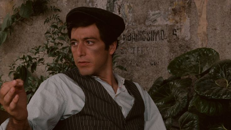 Young Michael Corleone (Al Pacino) The Godfather