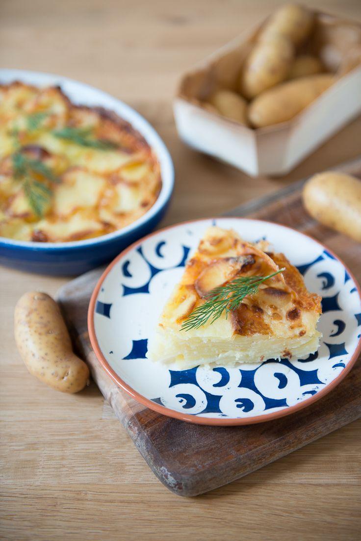 Gratin de pomme de terre au reblochon - Safran Gourmand
