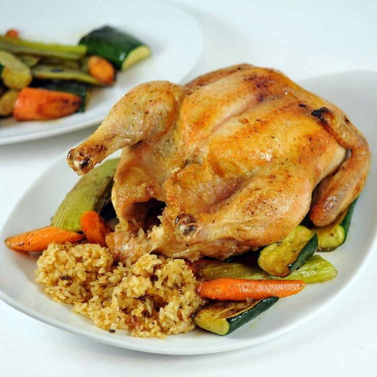 Chicken Stuffed with Rice and Dried Fruits and Nuts - gourmed.com